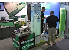 The Dimac Tooling stand at Austech 2012