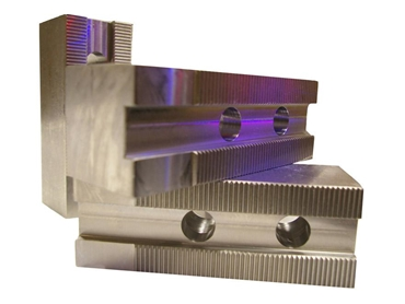 Custom Manufactured Soft Jaws with correct control of slot width