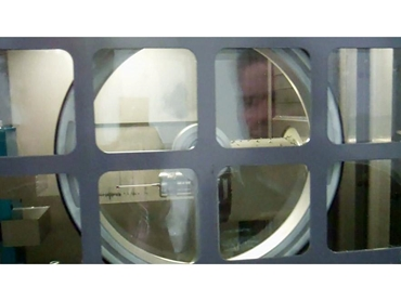 Spin window for a clear view into your machine tool