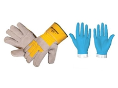 HexArmor SteelLeather VII Heavy Duty Safety Gloves