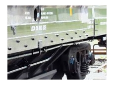 Railcar fastening systems