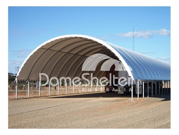AgShelter Fabric Structures for shelter of livestock and machinery