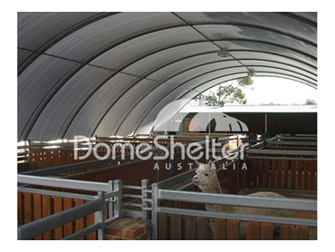 AgShelter UV resistant structures for effective shelter of your livestock