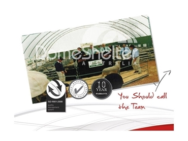 Contact the team at DomeShelter Australia to find the right structure