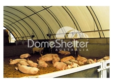 Durable fabric shelters for your livestock protection