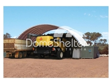 Look after your machinery with the container mounted dome shelters