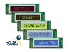 Serial and USB displays and keypads