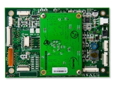 SLCD5+ serial embedded LCD controller boards feature faster processors and increased memory capacity