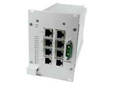 SF1 3U unmanaged 8-Port Ethernet switch