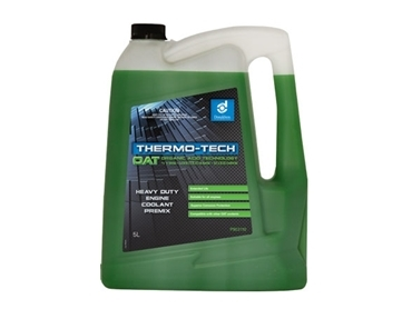 Water based glycol free coolant Thermo-Tech™ OAT is a safe and organic blend