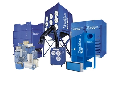 Dust, fume and mist collectors and filters