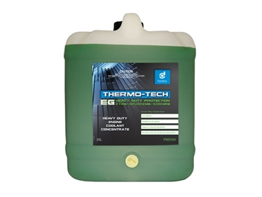 Thermo-Tech Heavy Duty Coolants are available in larger sizes
