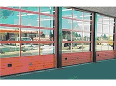 Alumatite insulated sectional steel door