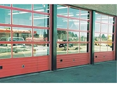 Alumatite insulated sectional steel doors
