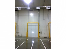 Sectional Overhead Roll Up Doors