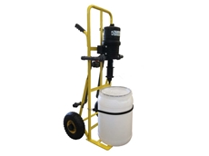 Dosing Systems' mobile fertigation trolley