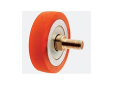 Polyurethane is an ideal rubber replacement for things such as wheels