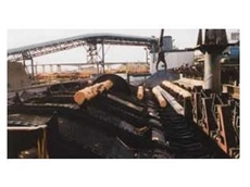 Welded steel timber chains are ideal for use in the timber milling industry