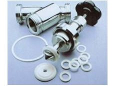 Ticomp S thermoplastics machined into washers and machinery components.