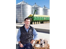 Jim Maitland has been nominated for this year's Young Farmer of the Year award for establishing an innovative sideline business on his farm