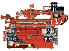 Diesel Gas Engines from Drivetrain Power and Propulsion