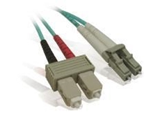 Duplex multi-mode and single-mode fibre optic patch cables