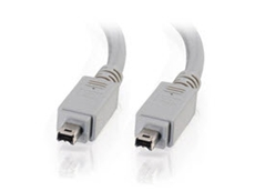 Four pin male to male FireWire cables