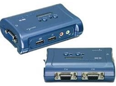 TK-209K 2-Port USB KVM switch kit with audio