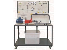 Edutechnics centrifugal pump test equipment