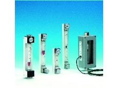 Glass tube variable area meters