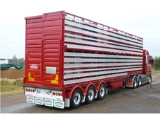 Australian Made Steel Sheep and Cattle Stock Trailer