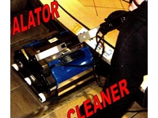 New escalator cleaner available from Duplex Cleaning Machines