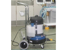 The dry steam vapour cleaning machine