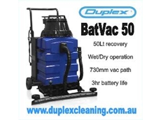 Walk Behind Battery Powered Industrial Vacuum by Duplex Cleaning Machines
