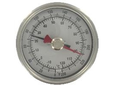 Series BTM3 Bimetal Thermometer with Maximum/Minimum Temperature Pointer
