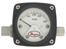 New PTGA Differential Pressure Piston-Type Gauge from Dwyer Instruments