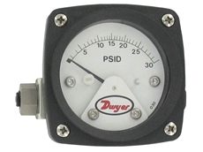 New PTGB Differential Pressure Piston-Type Gauge from Dwyer Instruments