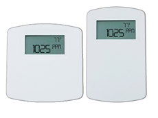 New Series CDTA communicating carbon dioxide, humidity and temperature detectors