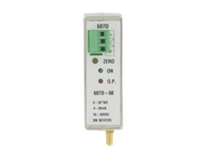 Series 607D DIN rail mount differential pressure transmitters