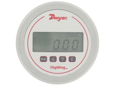 Series DM-1000 battery powered low differential pressure gauge from Dwyer Instruments
