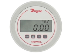 Series DM-1200 Battery-Powered Differential Pressure and Air Flow Gauge from Dwyer Instruments