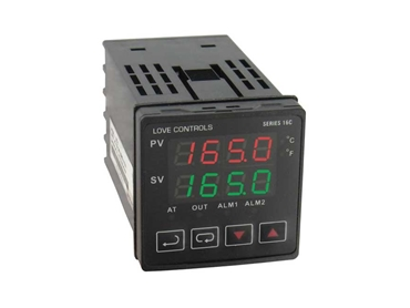 Series 16B controllers, lets you monitor and control temperature or process applications with precision