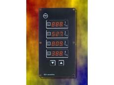 PMA's four-channel temperature controller.