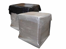 EMD's pallet top sheets are available in black or clear
