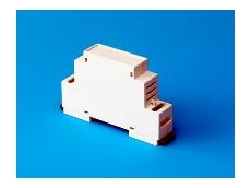 The 1 module miniature enclosure for M36 DIN-Rail