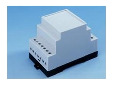 The 3 module miniature enclosure for M36 DIN-Rail