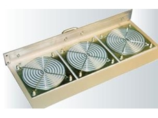 Air Filtered Fan Tray for 19 inch cabinets available from Erntec