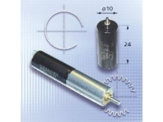The DC-Micromotor Series 1024 with ironless rotor system.
