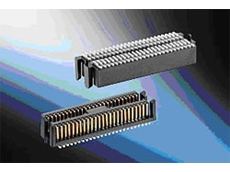 MicroStac 50 pin single row SMT Connector