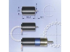 Miniature motor with integral encoder